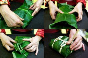 Gập lá và buộc lạt (nguồn internet)