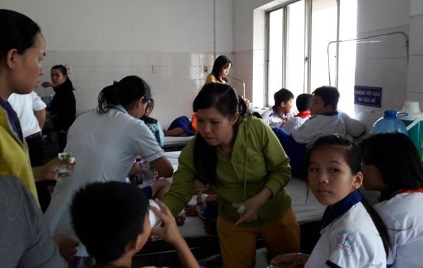 86 học sinh nhập viện có biểu hiện của ngộ độc thực phẩm (nguồn: mtg)