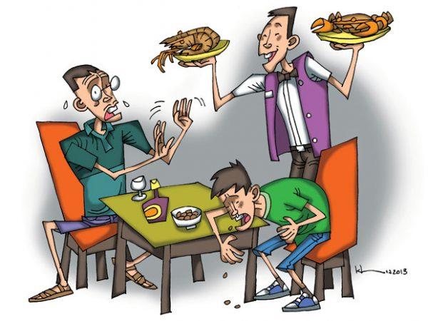 ngộ độc thực phẩm