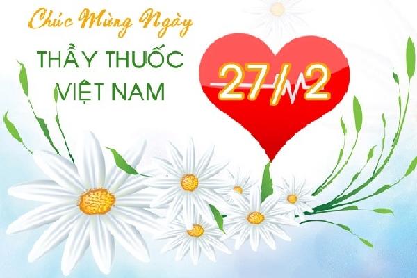 Chúc mừng ngày thầy thuốc Việt Nam (nguồn: internet)