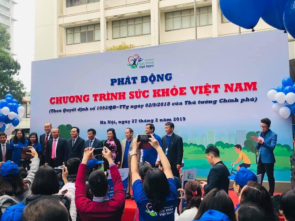 Chương trình Sức khỏe Việt Nam: Mỗi một người dân mạnh khỏe, tức là cả nước mạnh khỏe