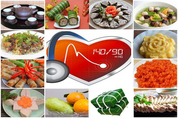 dinh dưỡng cho người tăng huyết áp và rối loạn lipid máu