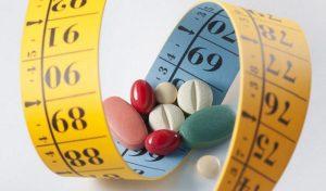 Giảm béo bằng thuốc. (Nguồn internet).