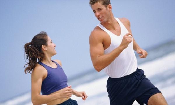 Giảm béo từ tập luyện. (Nguồn internet).