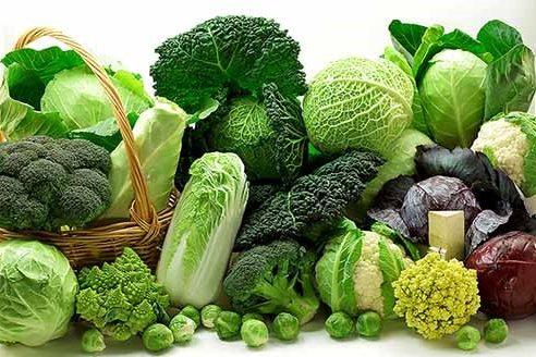 Rau xanh là thực phẩm tự nhiên làm giảm tiết acid dạ dày.