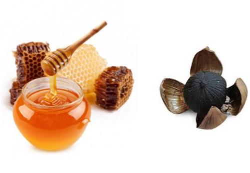 ngâm mật ong với tỏi đen