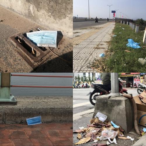 Vứt khẩu trang đã qua sử dụng bừa bãi khó thúc đẩy lây lan dịch bệnh ra cộng đồng
