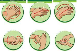 Quy trình rửa tay đúng cách theo hướng dẫn của bộ y tế