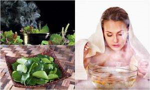 Xông là phương pháp điều trị cảm lạnh cảm cúm có từ lâu đời ở Việt Nam