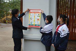 Các cách phòng tránh lây nhiễm COVID-19 khi trẻ đi học