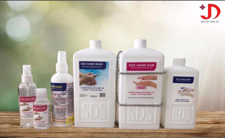 nước rửa tay SDS