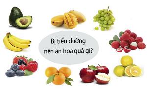 Tiểu đường nên ăn hoa quả gì