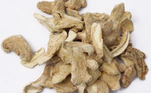 Thân và rễ cây can khương đã khô có lợi cho bệnh lí trào ngược dạ dày thực quản