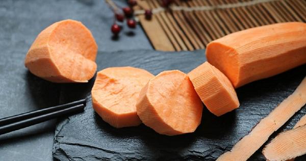 Khoai lang cam có chỉ số đường huyết thấp