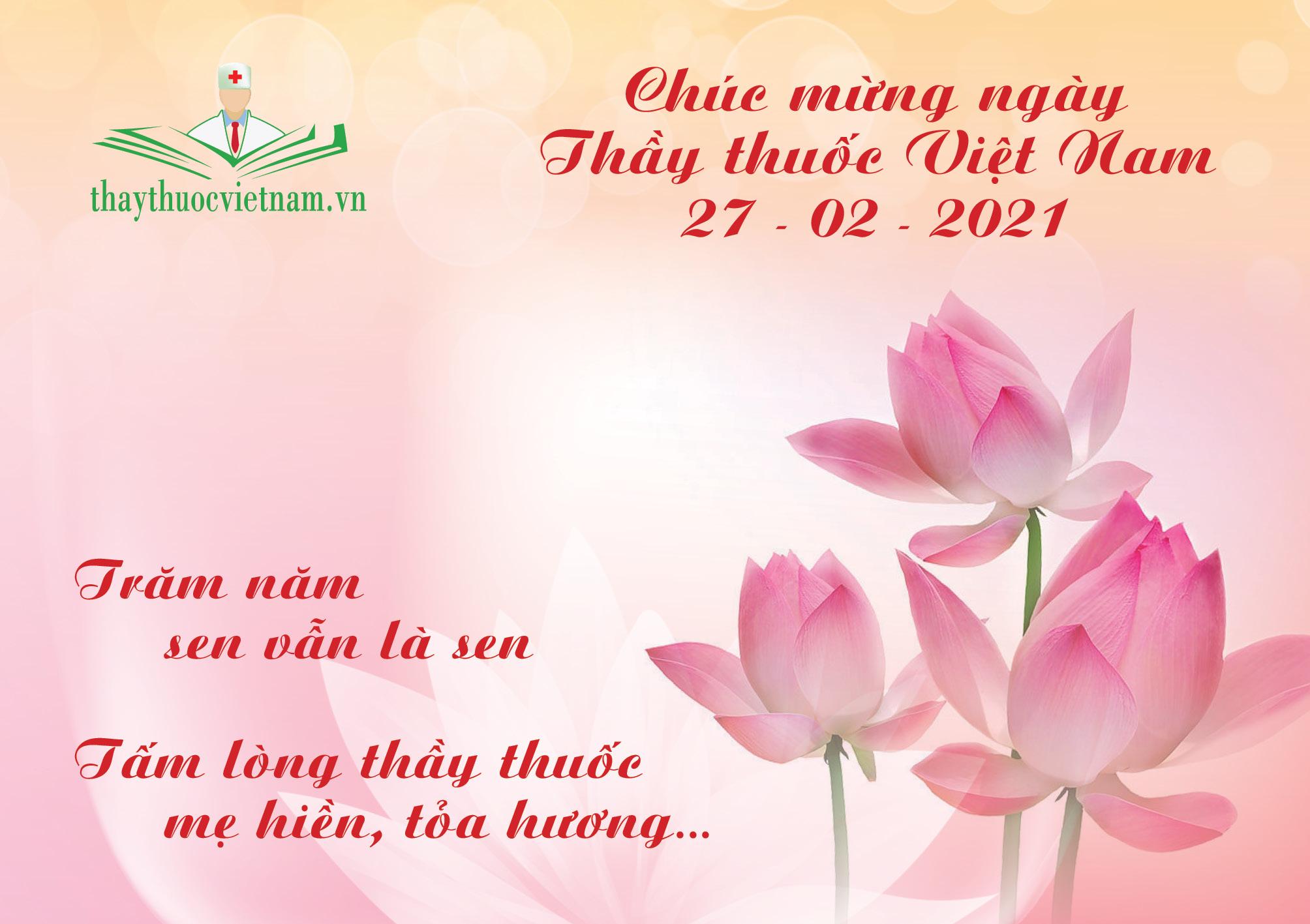 Chúc mừng ngày Thầy thuốc Việt Nam