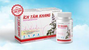 TPCN Ích Tâm Khang là giải pháp tăng cường chức năng tim cho người bệnh tim mạch