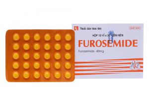 Furosemid là thuốc điều trị suy tim thường dùng khi có triệu chứng phù