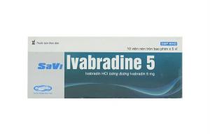 Ivabradine (Procoralan) là thuốc điều trị suy tim thế hệ mới tác động trên kênh IF