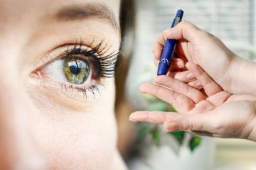 Người bệnh tiểu đường thường xuyên gặp các vấn đề về mắt do đường huyết cao