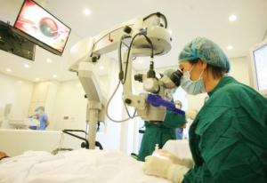 Bệnh võng mạc đái tháo đường có thể được điều trị bằng laser