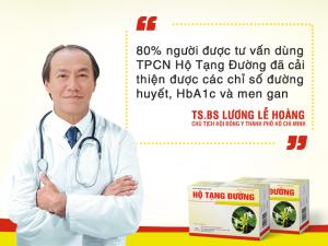 TS. BS Lương Lễ Hoàng phụ trách nghiên cứu lâm sàng của Hộ Tạng Đường