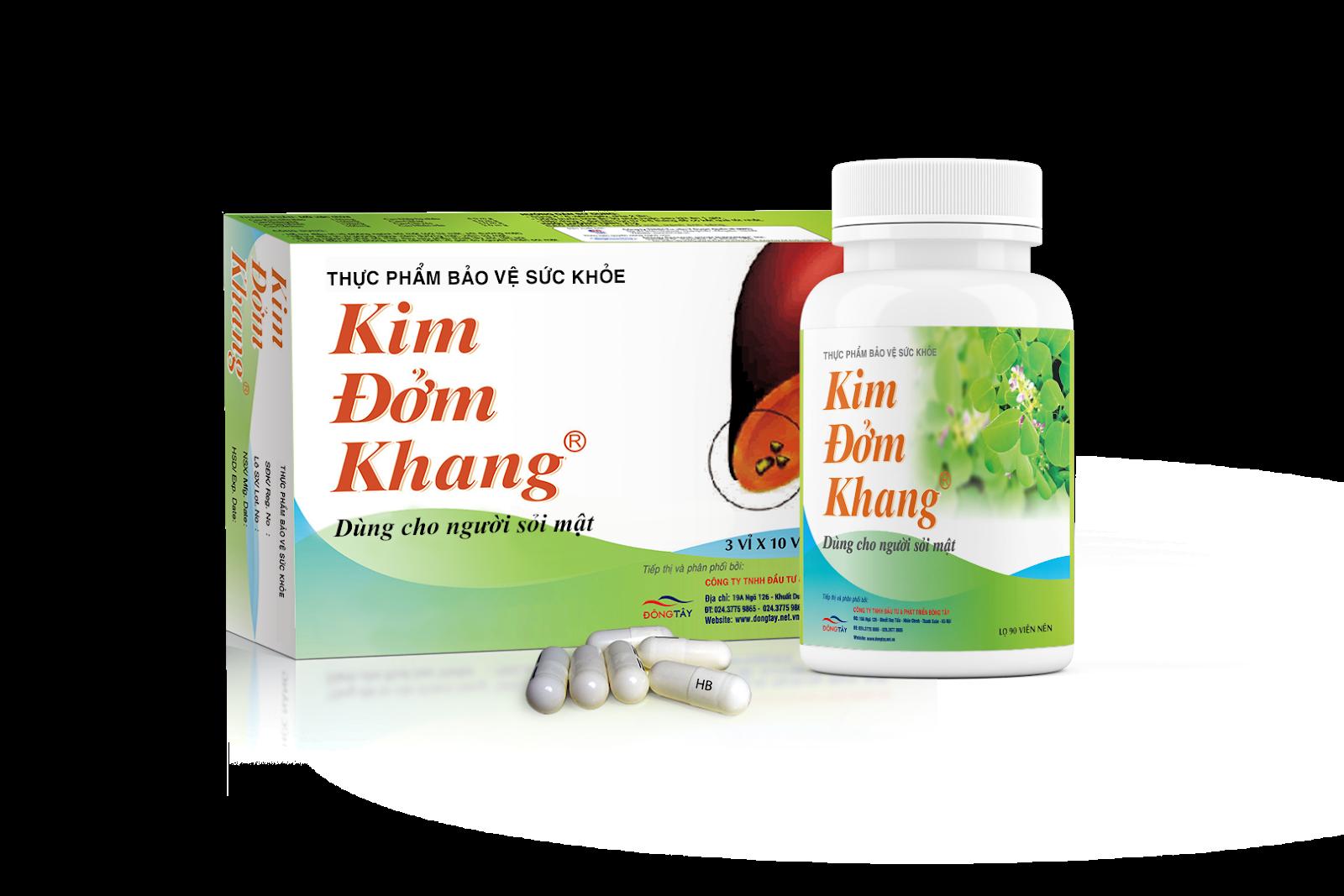 TPCN Kim Đởm Khang - Giải pháp toàn diện giúp bài sỏi mật, sỏi gan