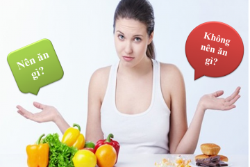 Dinh dưỡng cho người bị mụn