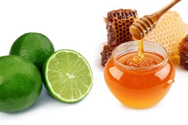 Dùng mật ong và chanh điều trị thâm mụn