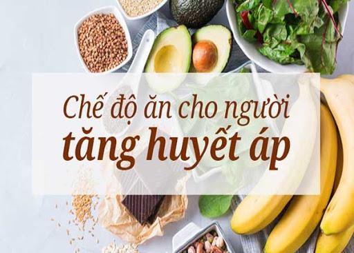 Những lưu ý trong chế độ ăn cho người tăng huyết áp