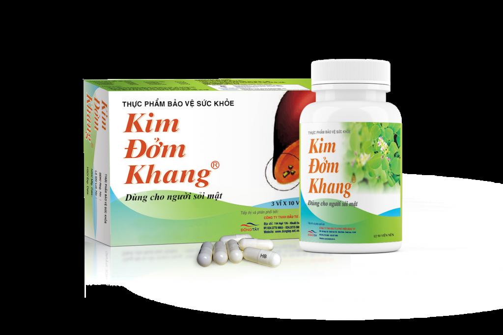 TPCN Kim Đởm Khang - hỗ trợ làm mềm sạn sỏi và bài sỏi mật