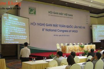 Nghiên cứu Kim Đởm Khang được báo cáo tại Hội nghị Gan mật toàn quốc 2013