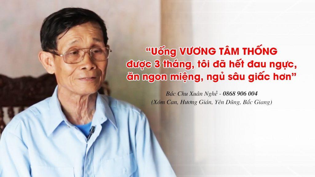 Kết quả khảo sát chứng nhận tác dụng của Vương Tâm Thống với người bị hẹp hở van tim