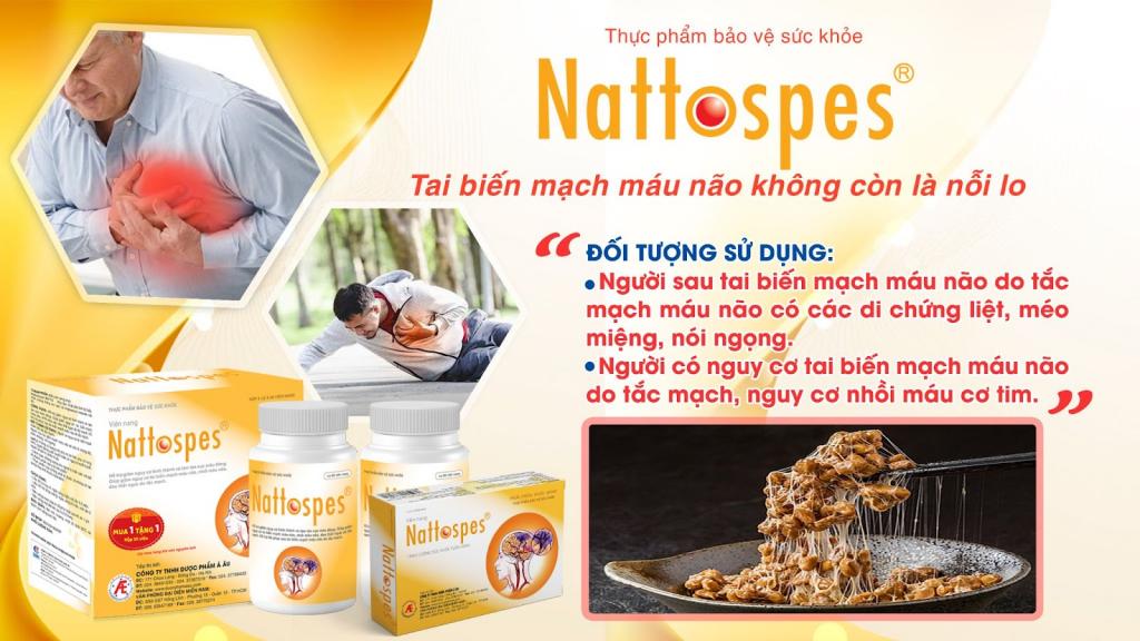 Nattokinase giúp làm tan cục máu đông