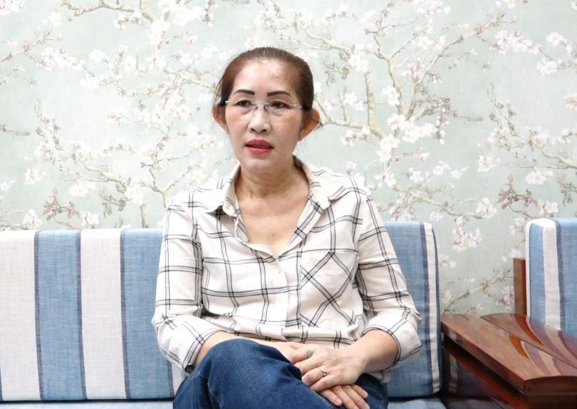 Bà Trang đã cải thiện đau lưng nhờ sử dụng Cốt Thoái Vương